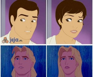 Postacie Disneya w innych wersjach
