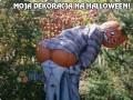 Moja dekoracja na Halloween!