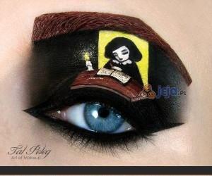 Niesamowity make up