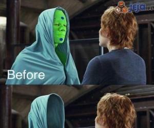 Przed i po CGI