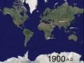 Mapa bitew w latach 1900-1950