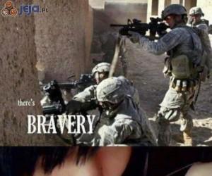 Prawdziwa odwaga...?