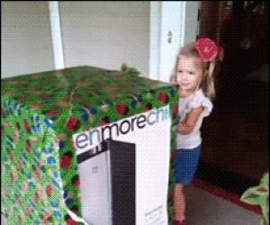 Przesyłka specjalna dla małej dziewczynki