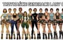 Trzynaście generacji Lary Croft