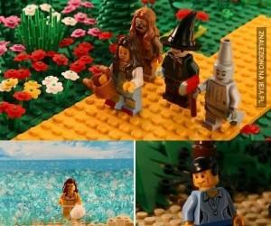 Sceny z filmów z Lego
