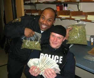 Tak się bawi policja w USA
