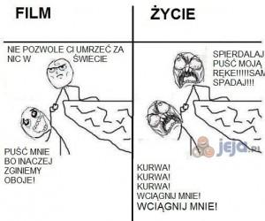 W filmach, a w realu