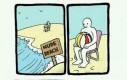 Tymczasem na plaży nudystów