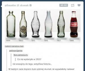 Ewolucja Coca-Coli pominęła jedną rzecz