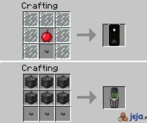 Jak się robi telefony w Minecrafcie