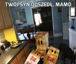 Twój syn odszedł, mamo