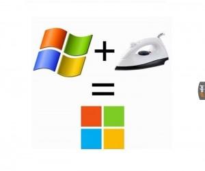 Logo Microsoftu, historia prawdziwa