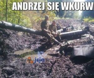 Andrzej się wk*rwi