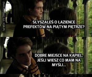 W Hogwarcie takie rzeczy nie przejdą, Edward!