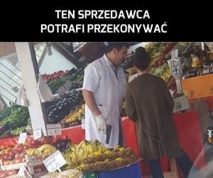 Skuteczny sprzedawca