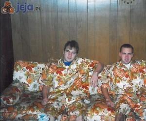 Kamuflaż na kanapie