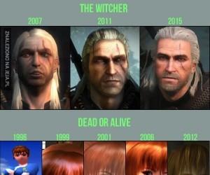 Ewolucja postaci z gier