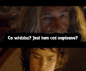 Frodo odkrywa pochodzenie pierścienia