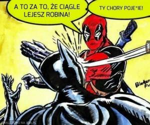Brawo Deadpool, należało mu się!