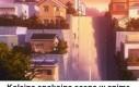 Typowa ulica w anime