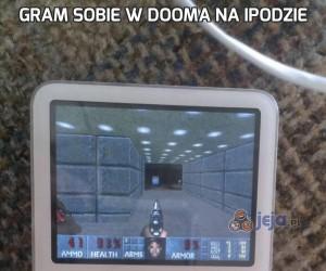 Gram sobie w Dooma na iPodzie