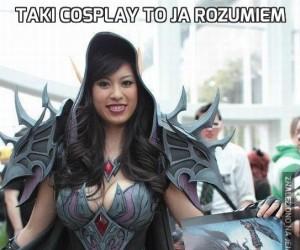 Taki cosplay to ja rozumiem