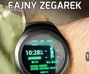 Fajny zegarek