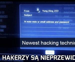 Najnowsza technika hakowania