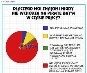 Dlaczego moi znajomi unikają Pirate Bay'a?