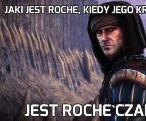 Jaki jest Roche, kiedy jego królestwo upada?