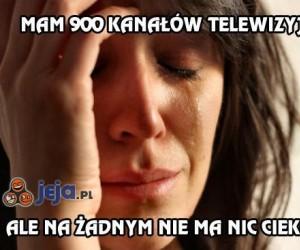 Mam 900 kanałów telewizyjnych