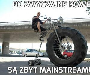Bo zwyczajne rowery