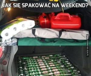 Jak się spakować na weekend?