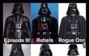 Ewolucja kostiumu Darth Vadera