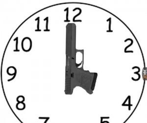 Zegar prawdziwego Amerykanina