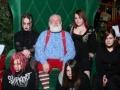 Dziwne zdjęcia rodzinne - wizyta Mikołaja