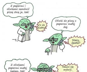 Trudno być Yodą