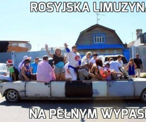 Rosyjska limuzyna