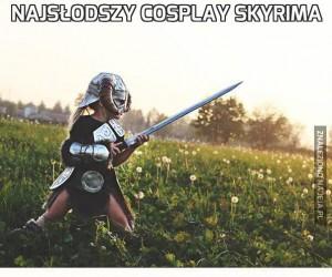 Najsłodszy cosplay Skyrima