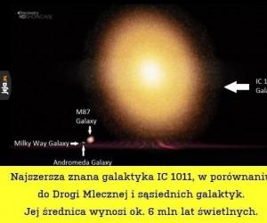 Najszersza znana galaktyka