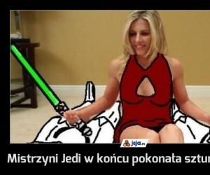 Mistrzyni Jedi w końcu pokonała szturmowców