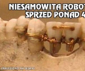 Niesamowita robota dentysty sprzed ponad 4000 lat