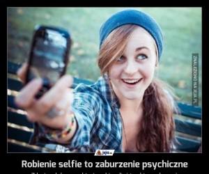Robienie selfie to zaburzenie psychiczne