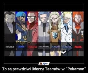 """To są prawdziwi liderzy Teamów w """"Pokemon"""""""