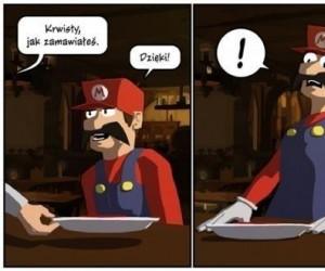Mario i krwiste danie