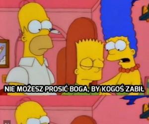 Homer zawsze wie co powiedzieć