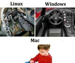 Linux, Windows i Mac