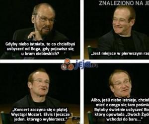 Robin Williams: Gdyby istniało niebo...
