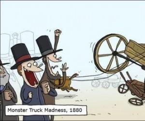 Monster Truck kiedyś