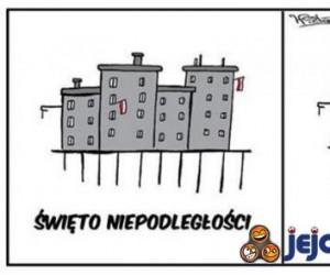 Święto Niepodległości vs. EURO  2012